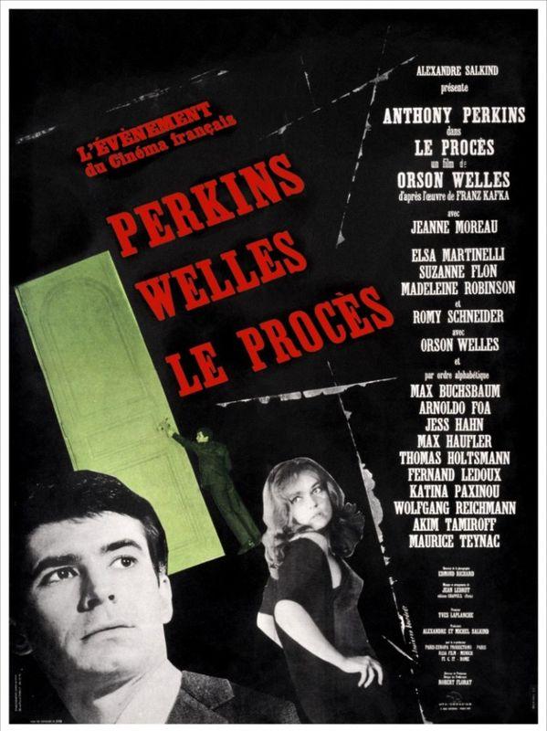 33870743 Affiche Le Procès Orson Welles