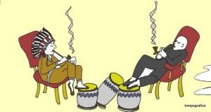 danze della pioggia giodo  fumando calumet